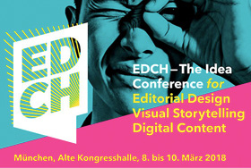 Blick über den Tellerrand: Auf zur EDCH-Konferenz vom 08. bis 10. März 2018 in München
