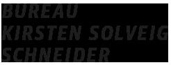 bureau Kirsten Solveig Schneider — Kommunikationsdesign und visuelle Strategien